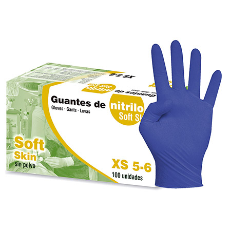 Luvas nitrilo Soft Skin